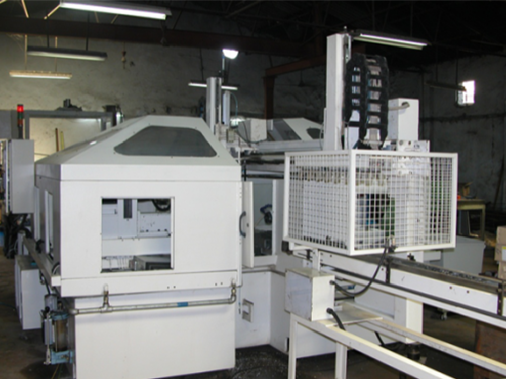 Loading / Unloading Automation for Duplex Milling Machine